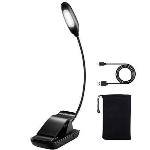 Rechargeable Book Light Clip On Reading Light Atmoko Led Reading Lamp Usb Rechargeable