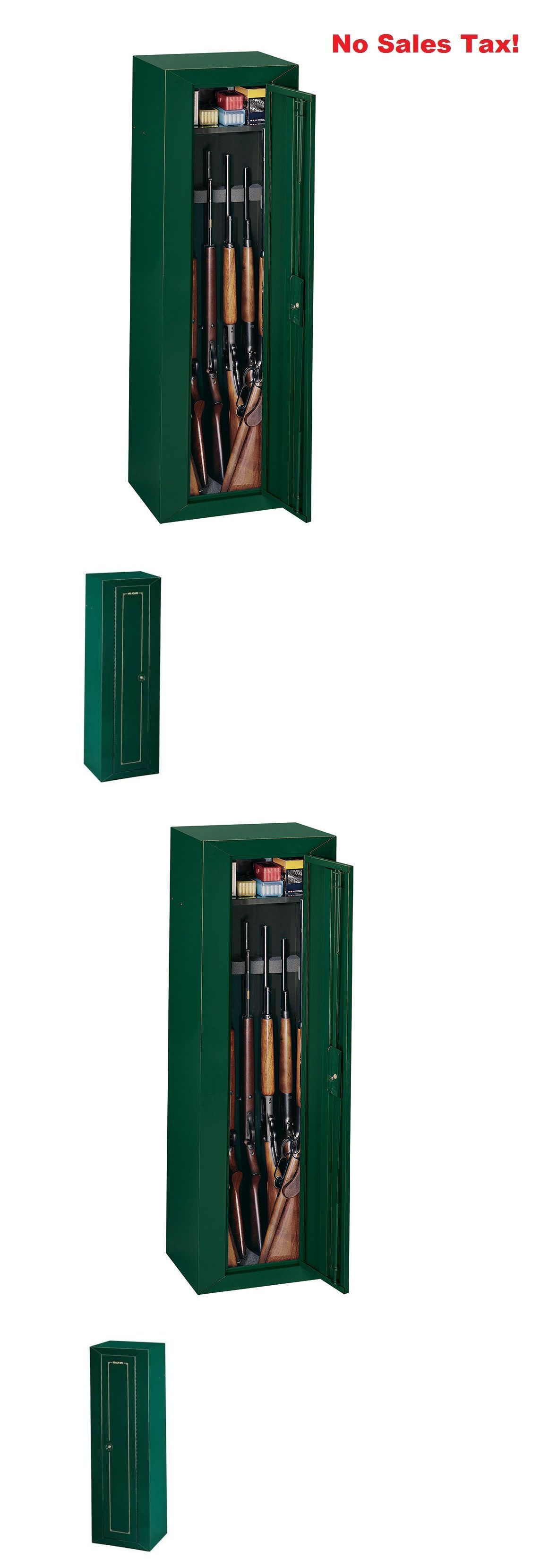 Cabinets and Safes Gun Security Cabinet 10 Guns Safe Lock