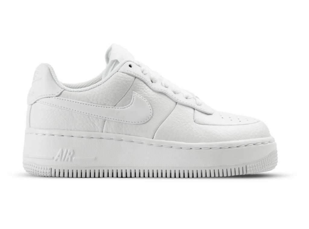 check out 932a5 74d05 Nike W Air Force 1 Upstep White White Black 917588 100 online kopen ✓  Gratis Verzending