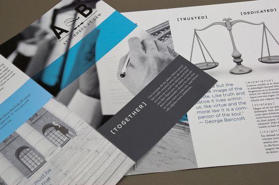 Atemberaubend Law Firm Broschüre Galerie - Bilder für das ...