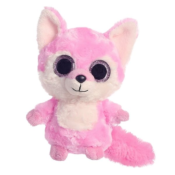 YooHoo and Friends Foxee the Stuffed Pink Fox by Aurora  6645feb0eabf
