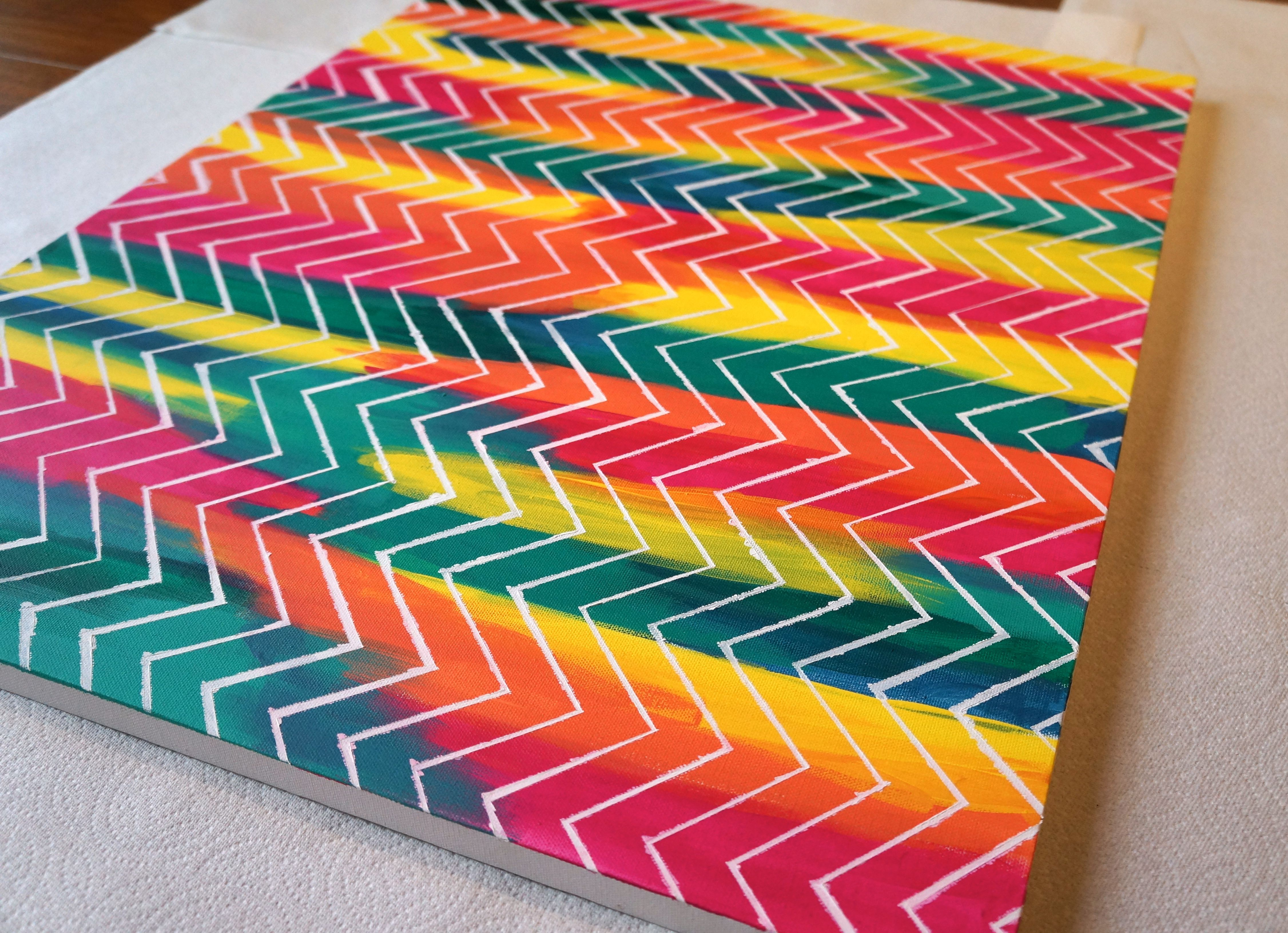 Get inspired with this amazing photo of simple painting ideas canvas  blurred lines.