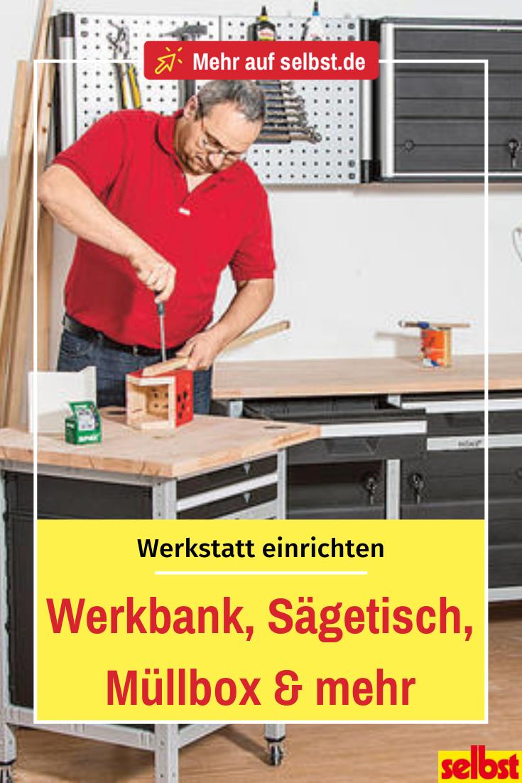 Photo of Werkstatteinrichtung | selbst.de