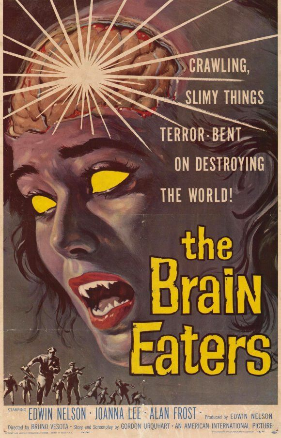 the brain eaters 11x17 movie poster 1958 movie posters