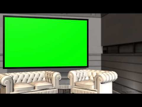 Virtual Studio Background With Green Screen Wall Youtube Virtual Studio Greenscreen Green Screen Video Backgrounds