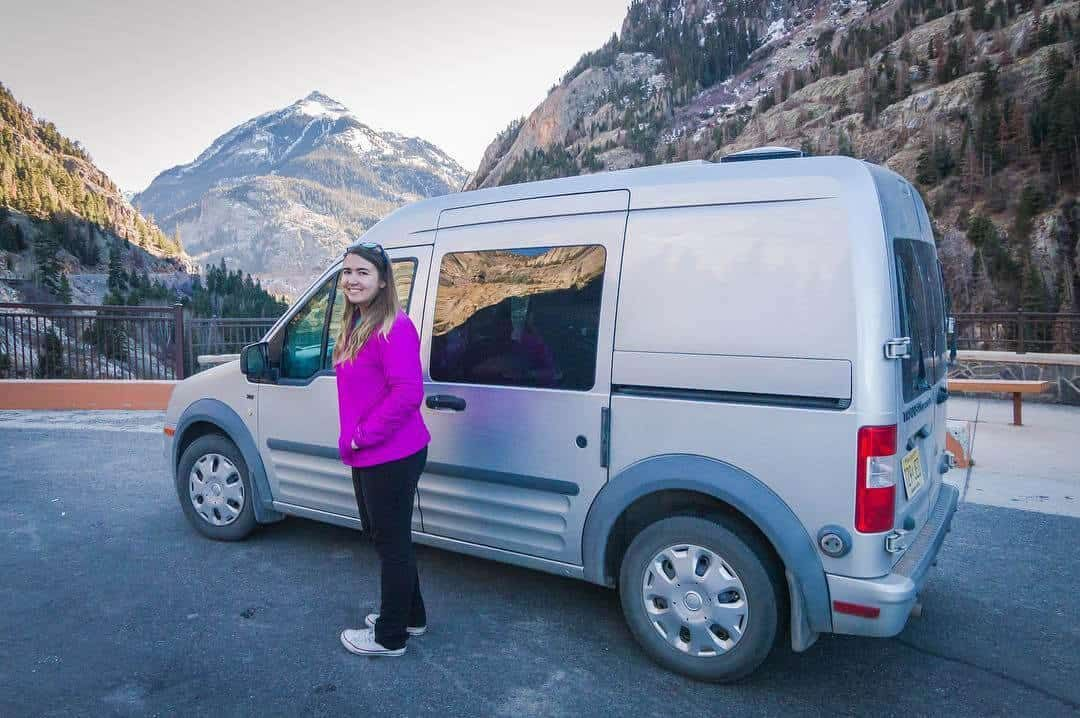 Why I Chose A Ford Transit Connect Camper For Van Life In 2020 Ford Transit Connect Camper Transit Connect Camper Ford Transit