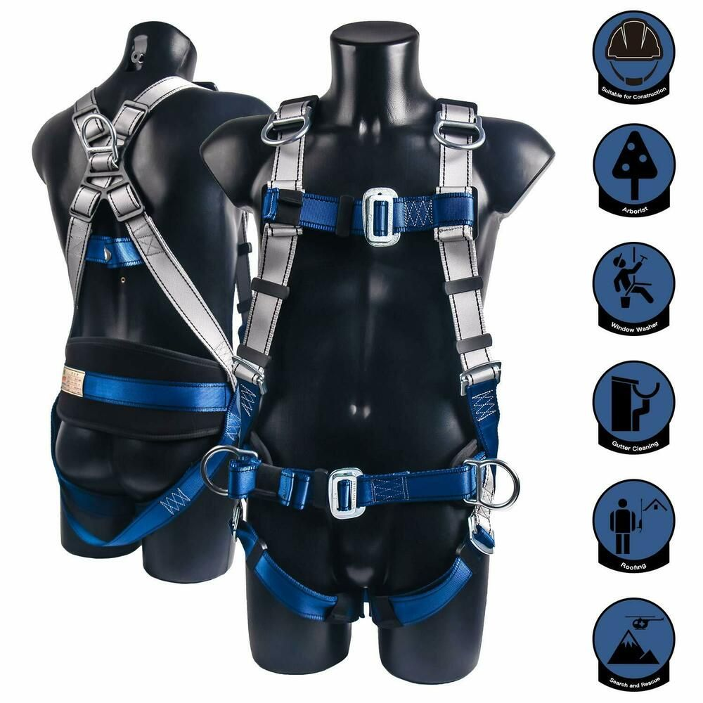 Safety Harnesses Full Body Harnesses Side DRings