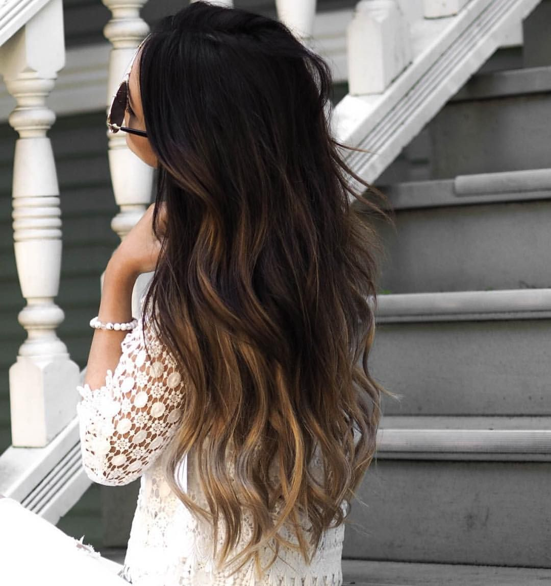 """Luxy Hair on Instagram: """"Ombré goals Double tap if you're a fan! ❤️ @nelyakhryukin's Ombre Blonde #luxyhair extensions blend in so beautifully with her hair What a fun way to change up your look without any damage """""""
