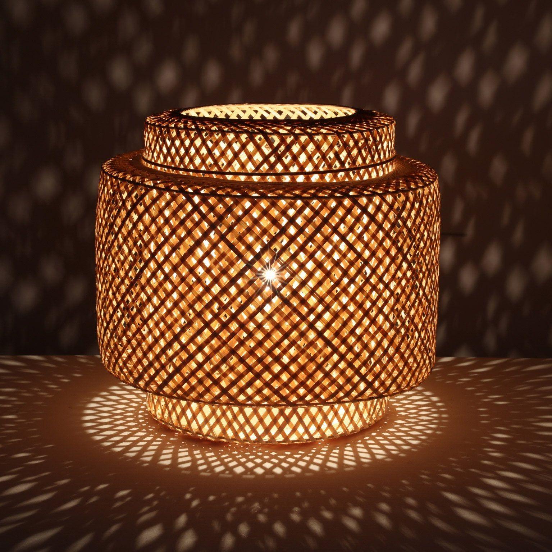 Lampe Nature Bambou Naturel Lussiol Doramu En 2019 Bambou Maison Et Appartement