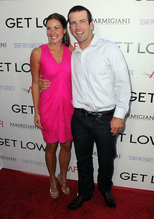 Lucas Black with Wife Maggie O