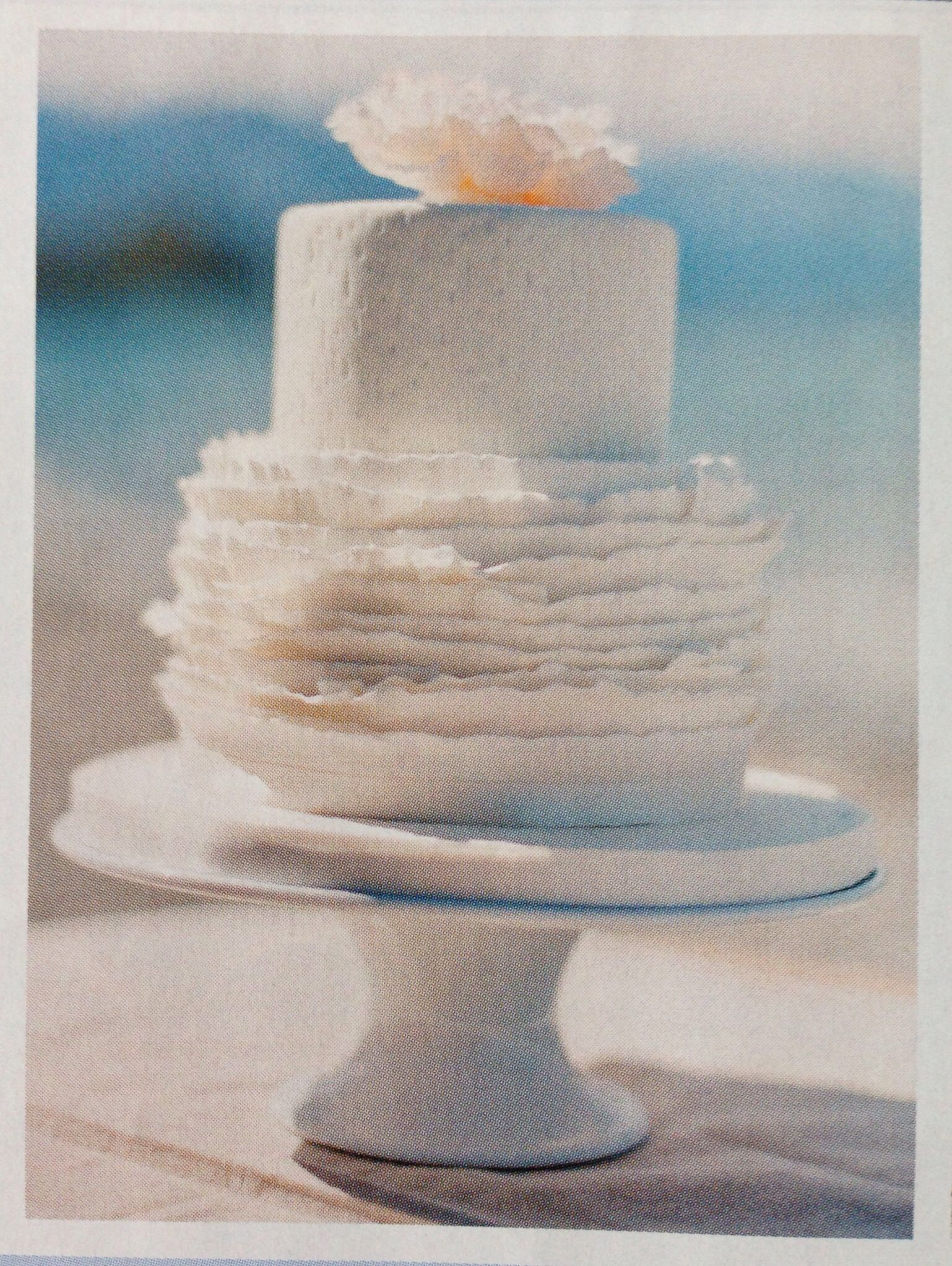 Love this cake! Simple but beautiful