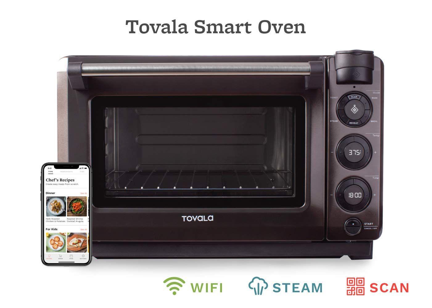 Tovala Gen 2 Smart Steam Oven Countertop Wifi Oven 5 Mode