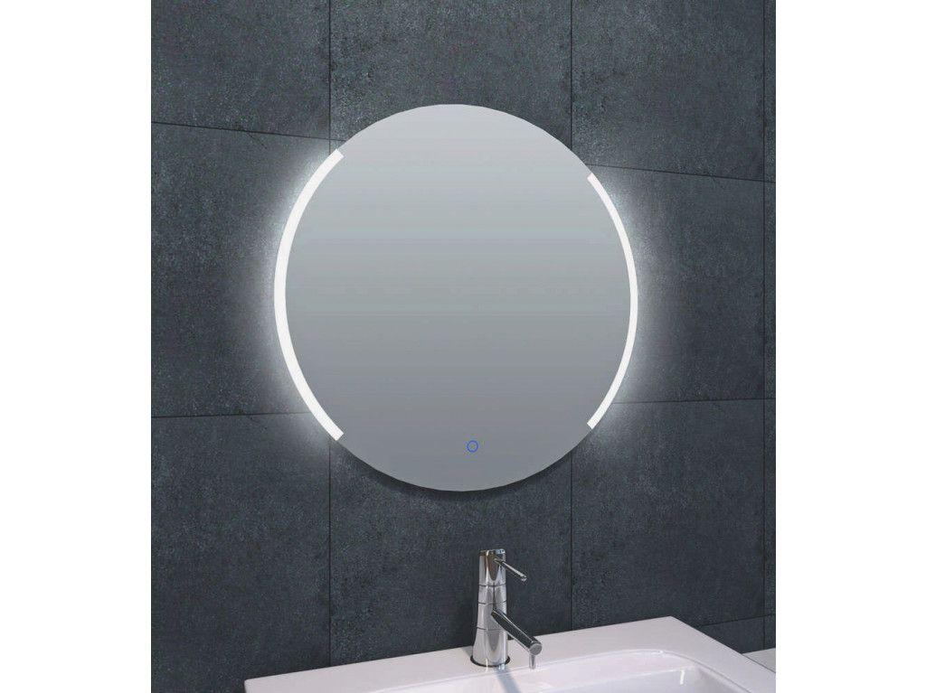 Wiesbaden round dimbare led condensvrije spiegel rond cm