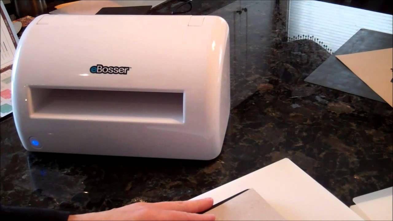 Ebosser Automatic Embosser Die Cutter Card Making Techniques Die Cutter Card Making Paper