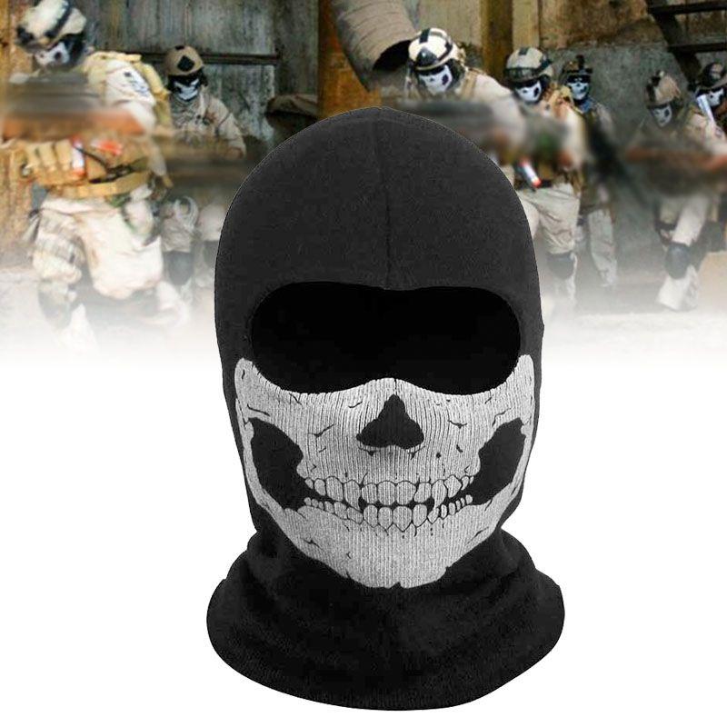 Shawl Skull Face Mask Sturmhaube Skimaske Totenkopf