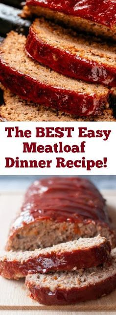 Photo of Das beste einfache Hackbratenrezept! #best #easy #easymeatloaf #meatloaf #dinner