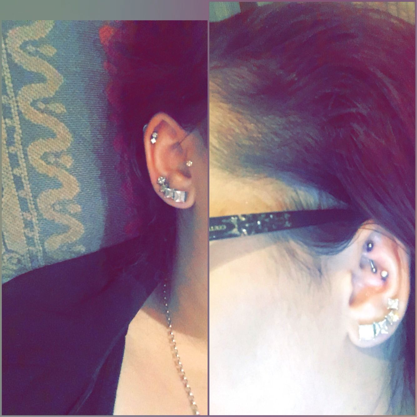 how to change a rook piercing