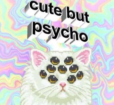 Pastel Goth Creepy Cute Grunge Pastel Goth Pastel Punk Cat Background