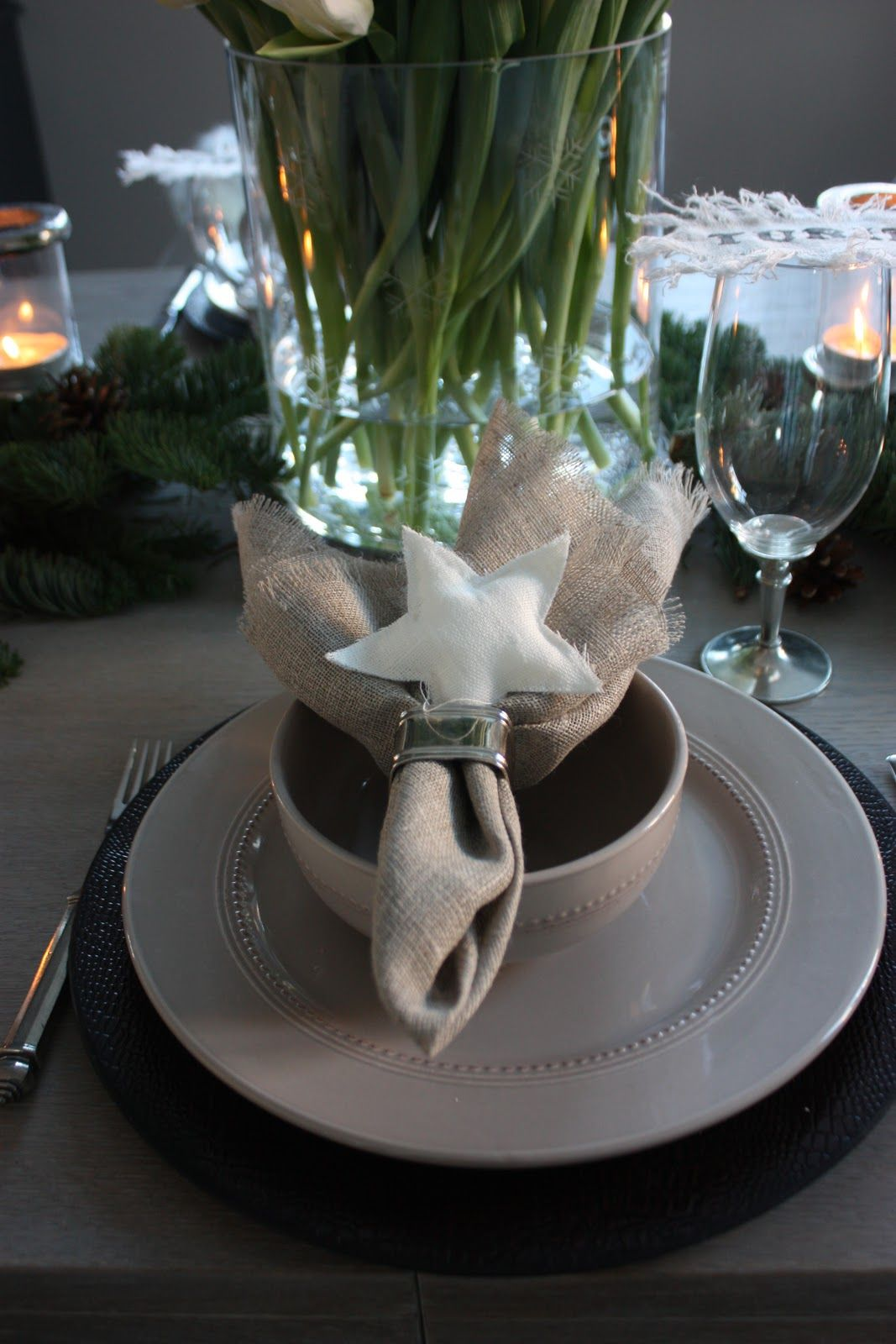 star placesetting