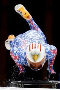Katie Uhlaender is Kansas' representative in the Winter Olympics. Sort of.  A member of the U.S. skeleton team, she grew up in Breckendridge, Colo., and still lists it as her residence. But she's also a Kansas farmer, working her late father's cattle ranch near Atwood in Rawlins County when she's not training or in competition.