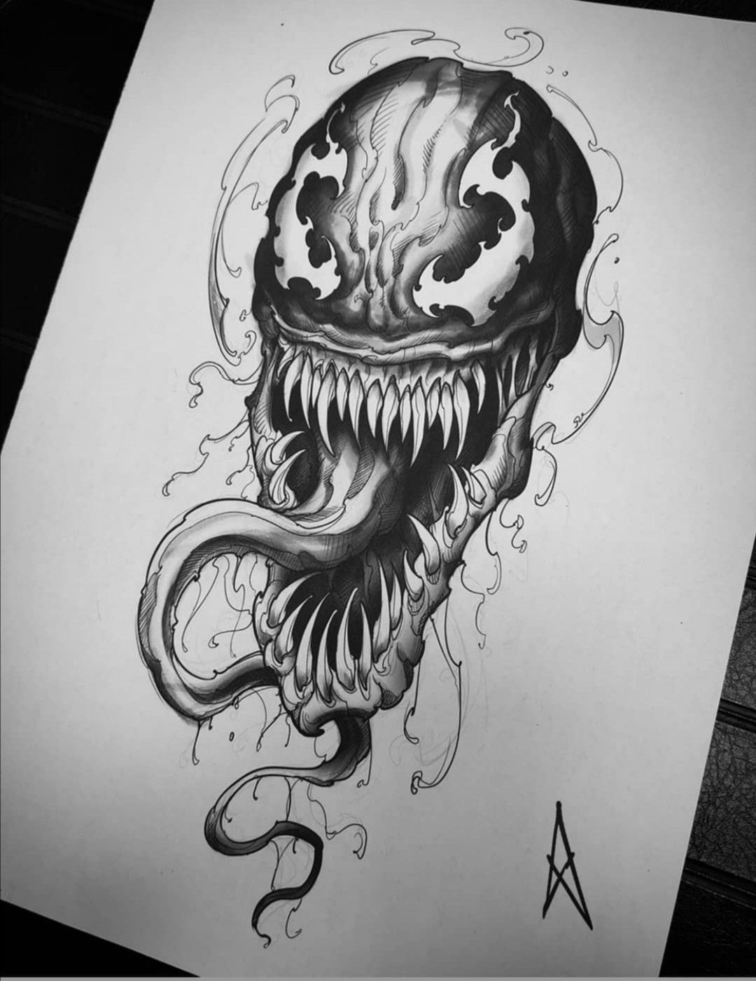 Pin By Bate Koce On Comics Game Desenho Sketch Tattoo Design Venom Tattoo Tattoo Design Drawings