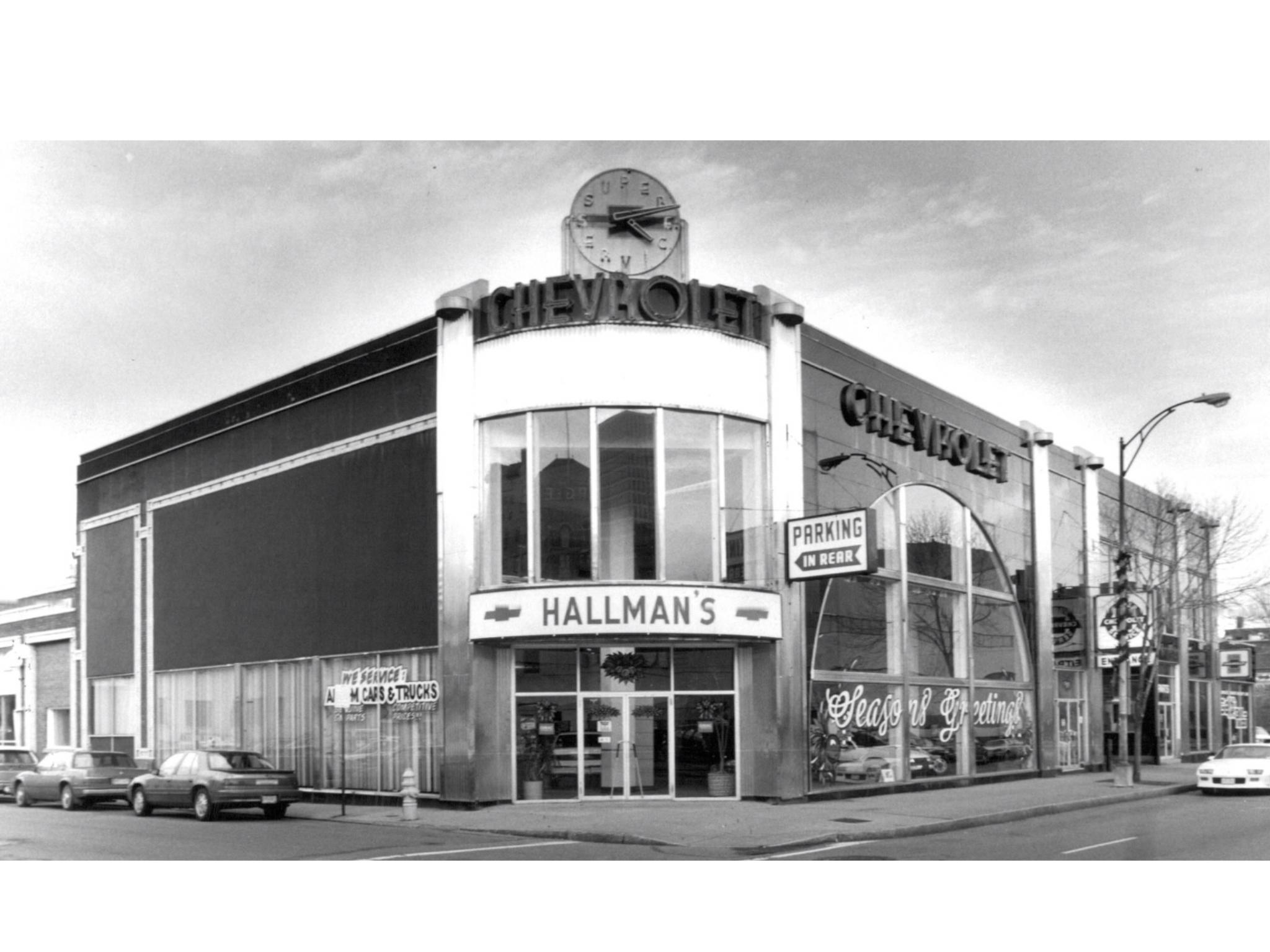Hallman S Chevrolet Dealership Rochester New York Vintage Car
