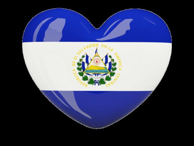 Heart Icon Illustration Of Flag Of El Salvador El Salvador Flag El Salvador Food El Salvador