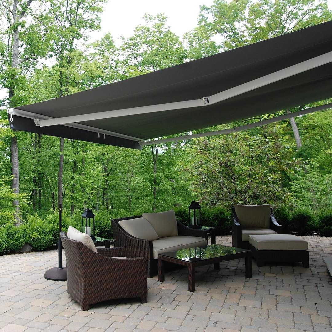 Retractable Awnings Now 3 Years Zero Interest By Breslow 973 992 2333 Design Breslow Com Patio Outdoor Awnings Patio Design