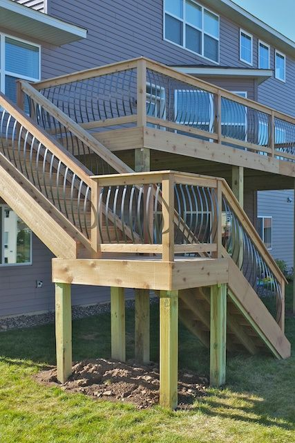 Modern Deck Details Deck Stairs Exterior Stairs Deck Staircase