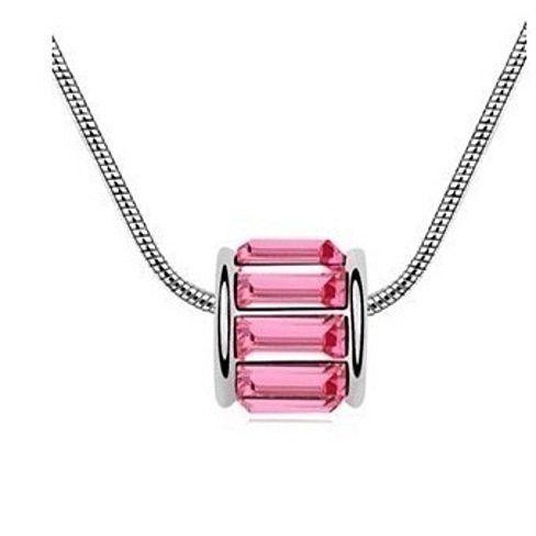 Baguette Swarovski Element Necklace