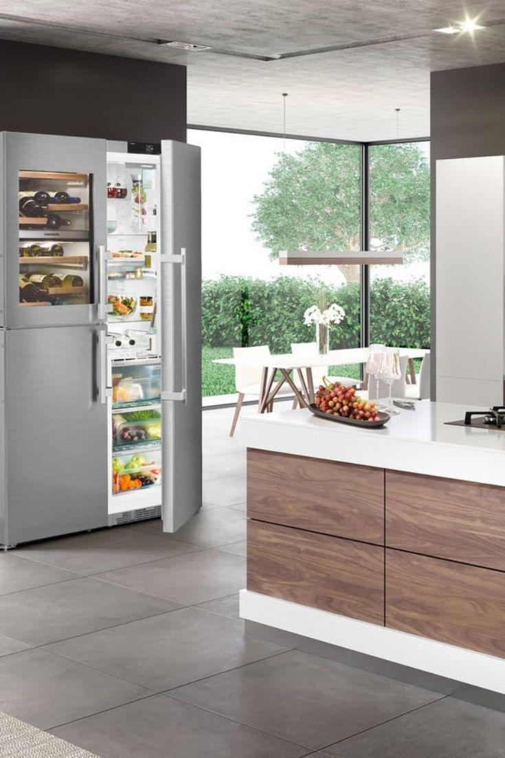 Freistehender Kühlschrank: Welche Vorteile und Nachteile gibt es