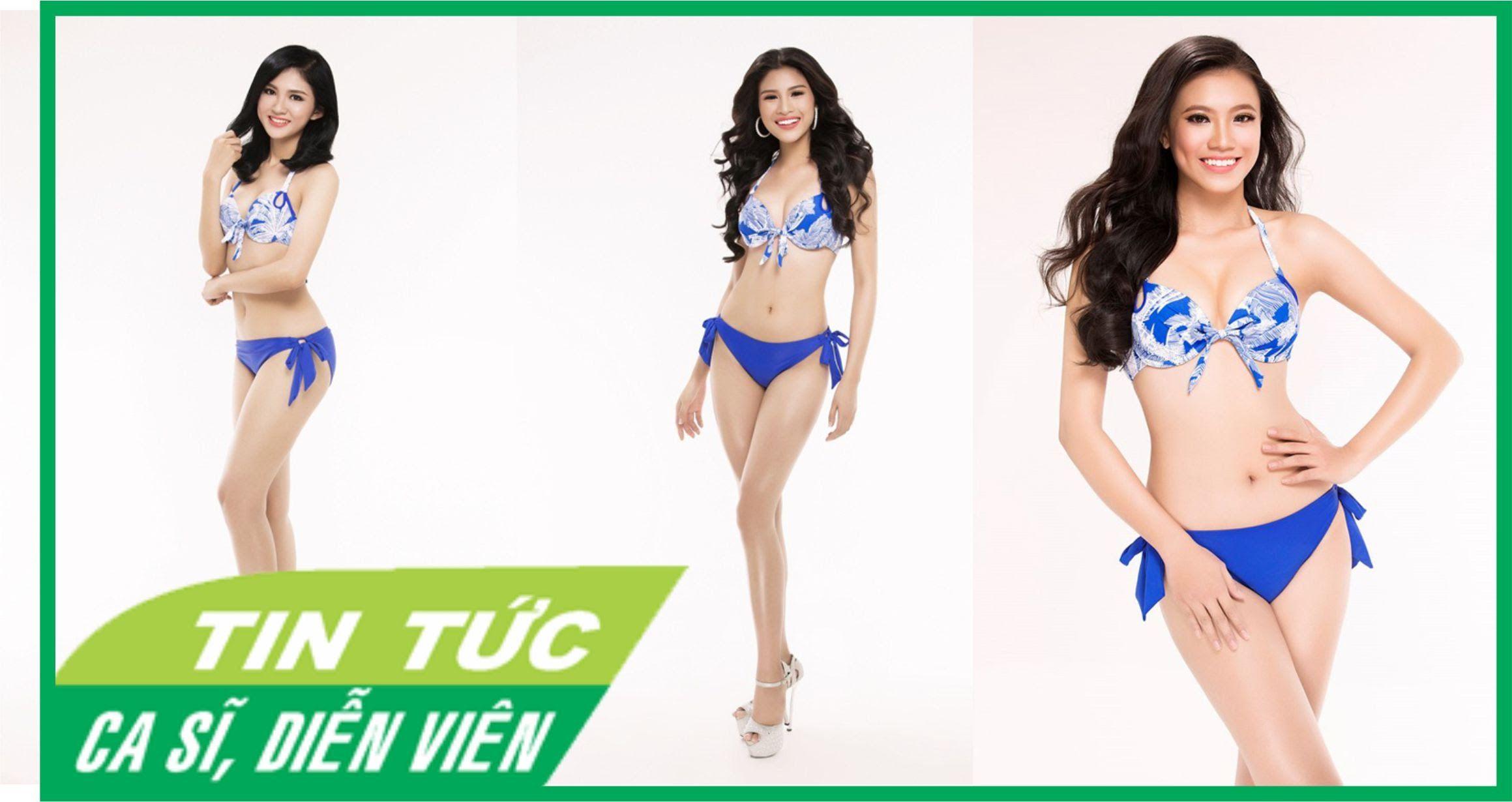 Top 30 Hoa hậu Việt Nam phía Nam nóng bỏng với áo tắm [Tin tức ca sĩ, di...