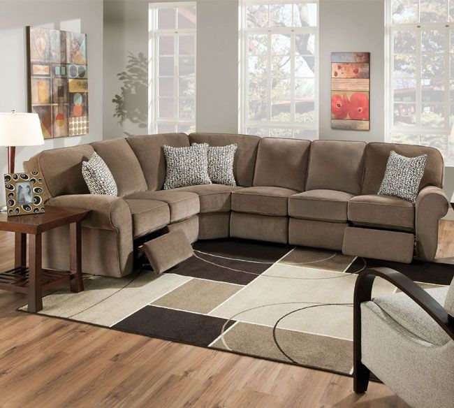 Lane 343 Megan Sectional Lane Reclining Sectional Lane