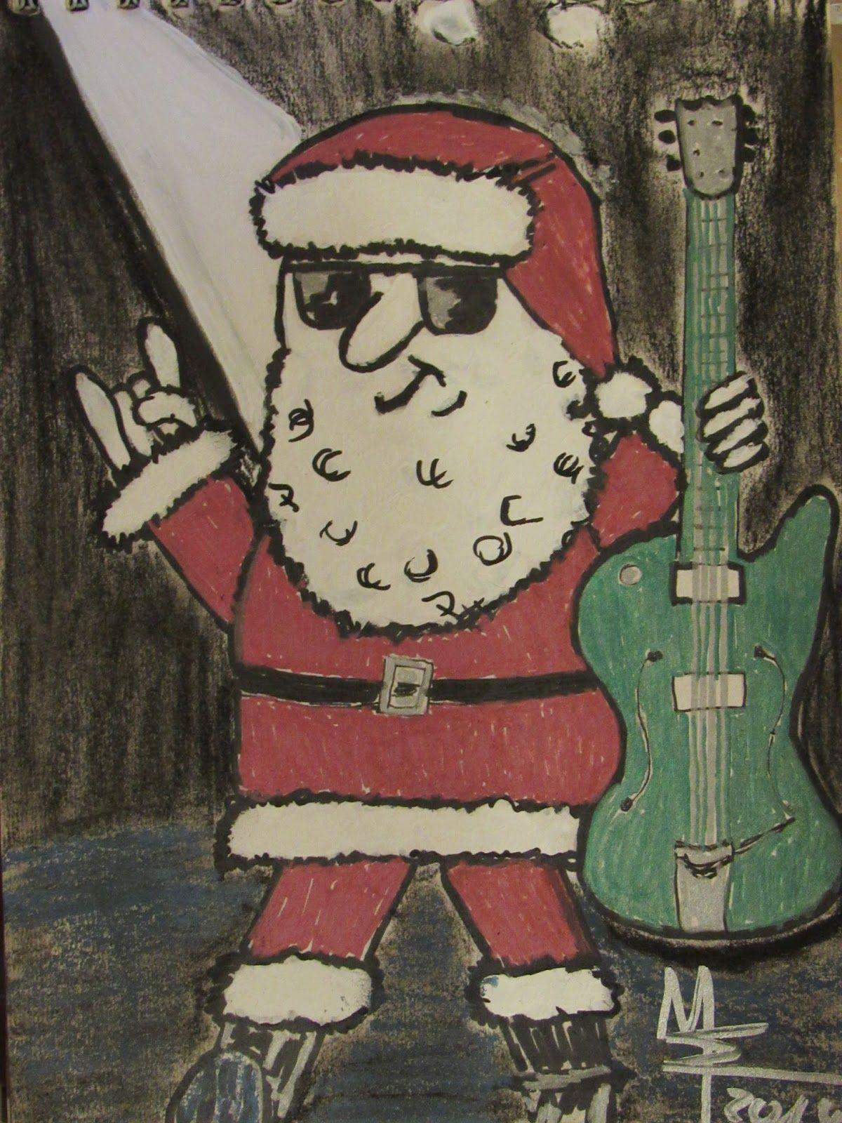 delirious dark: Wir wünschen allen rockige Weihnachten !!! We wish ...