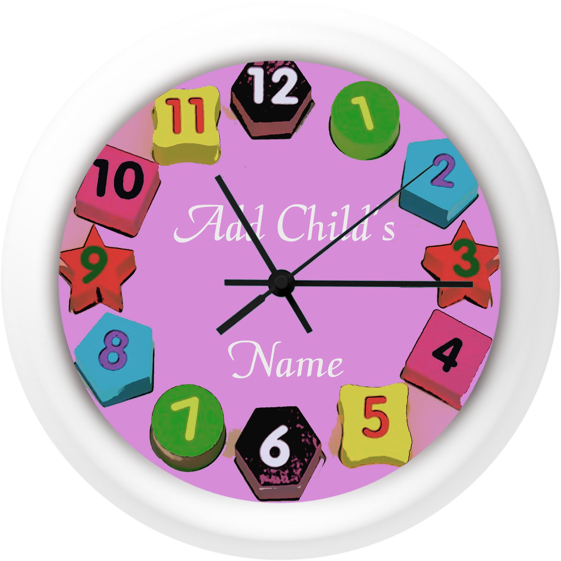 Personalized childrens photo wall clocks free printable pics and personalized childrens photo wall clocks free printable pics and graphics to aid in your original amipublicfo Gallery