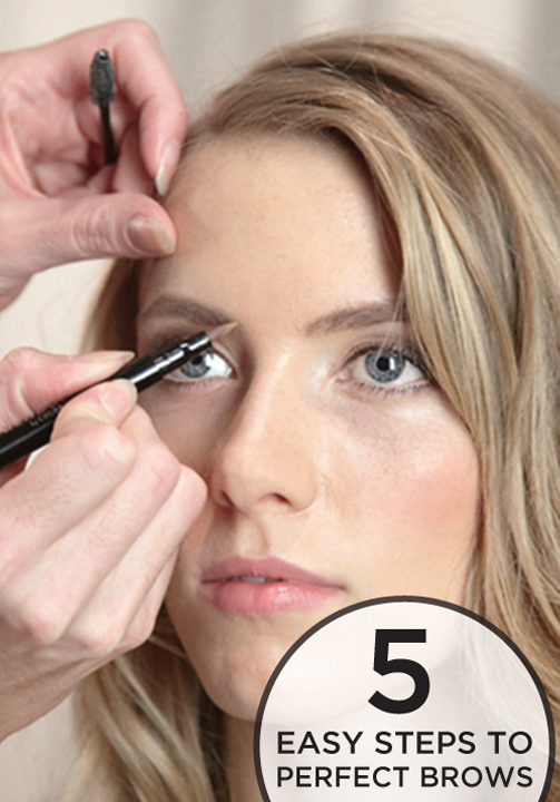 2fc9c187b52 Finding the right eyebrows for your face shape can be hard – follow these 5  easy steps for perfect brows!