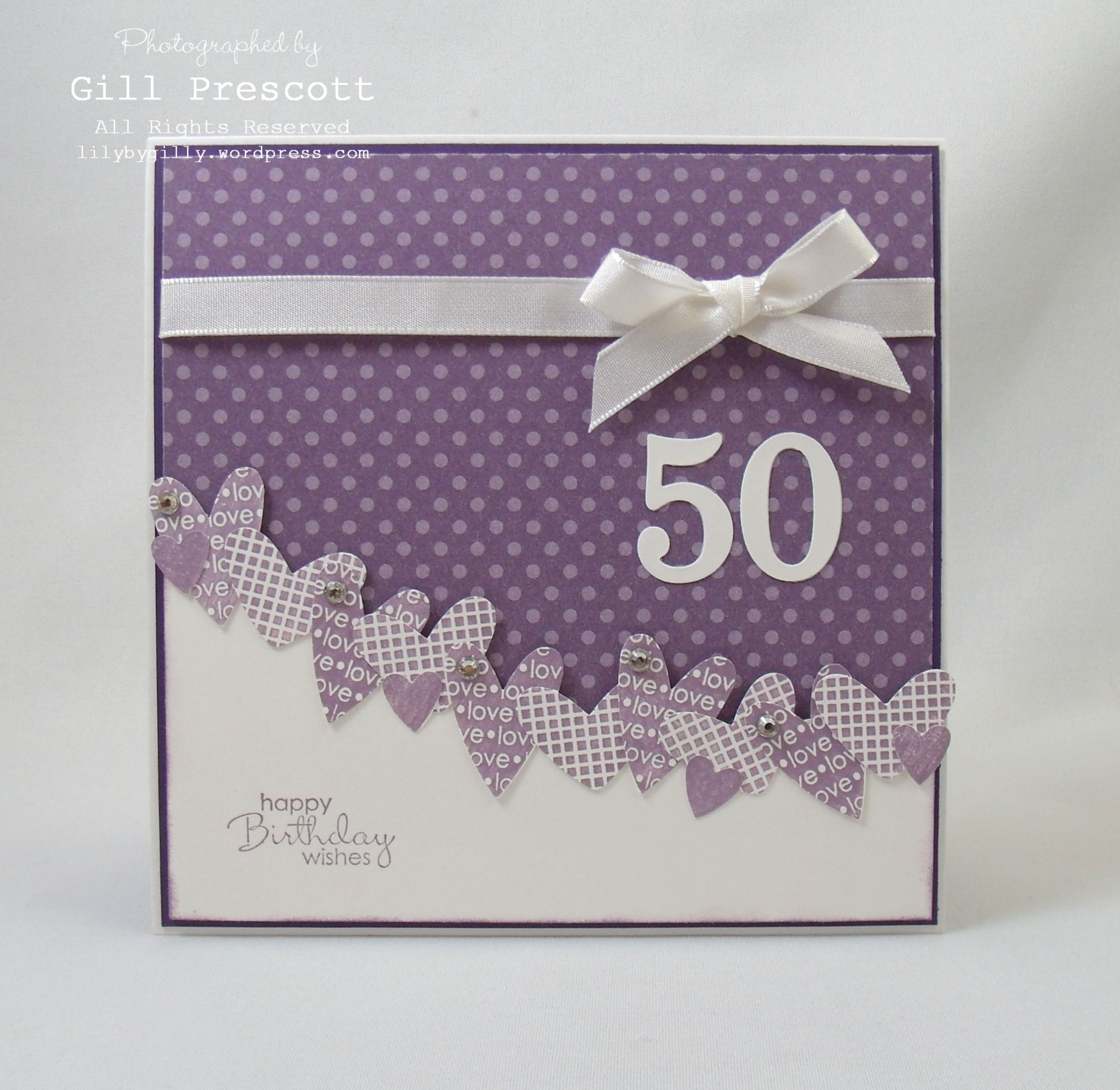 Stampin Up birthday wishes …