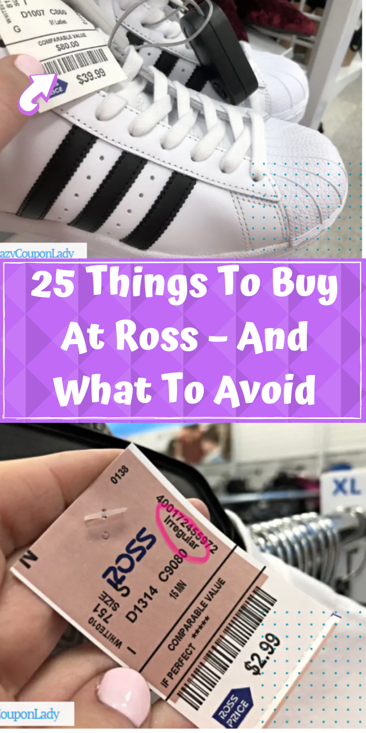 Shopping At Ross Dress For Less Is Like Going On A Treasure Hunt But Not Every Treasure Is The Same Some Are Real Gems While Othe