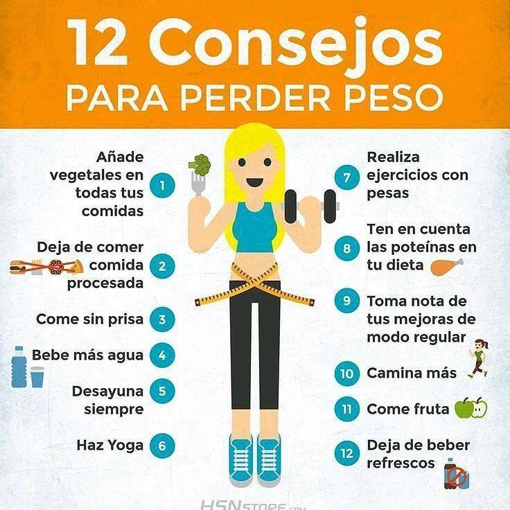 Haga Esto Y Adelgaza De Forma Saludable Consejos Para Perder Peso Alimentos Saludables Bajar De Peso Tips Para Adelgazar