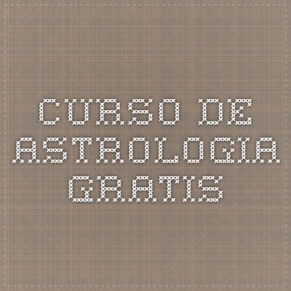 Curso de Astrologia Gratis