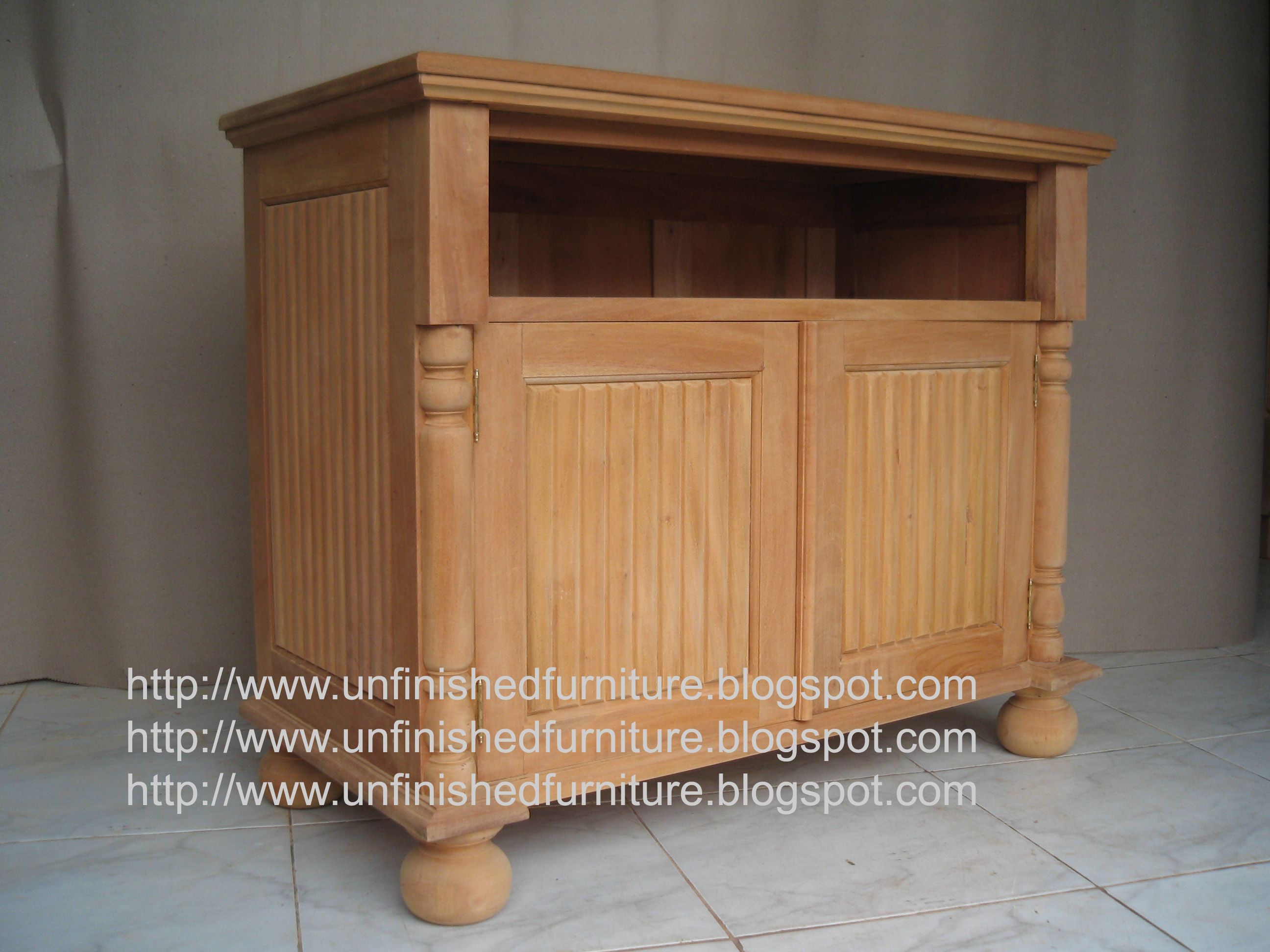 Unfinished Mahogany Furniture Curtain Tv Base Made Of Fine Solid Kiln Dry Mahogany Wood Present In Unfinished Furniture Condition Raw Furniture Ready To P Dengan Gambar