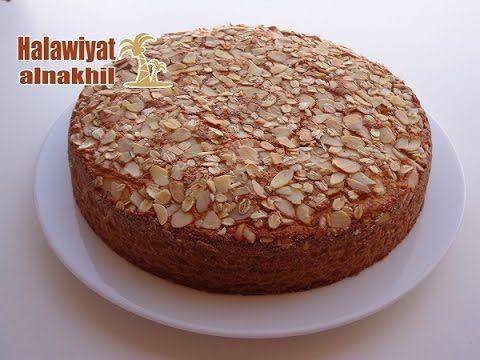 143 طريقة عمل كيكة الشوفان الصحية و الهشة X2f حلويات النخيل Youtube Cakes Plus Food Arabic Sweets