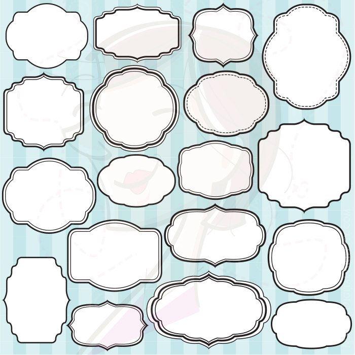 decorative text box clip art transparent - Google Search ...