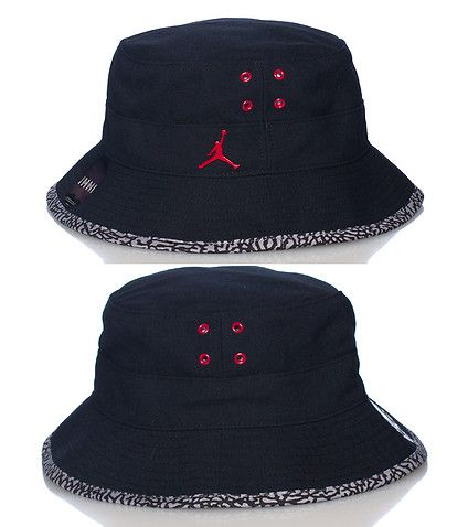 05e9d2c3bc3 ... sweden jordan unisex bucket hat red metal jordan jumpman logo  breathable holes detail elephant print lining