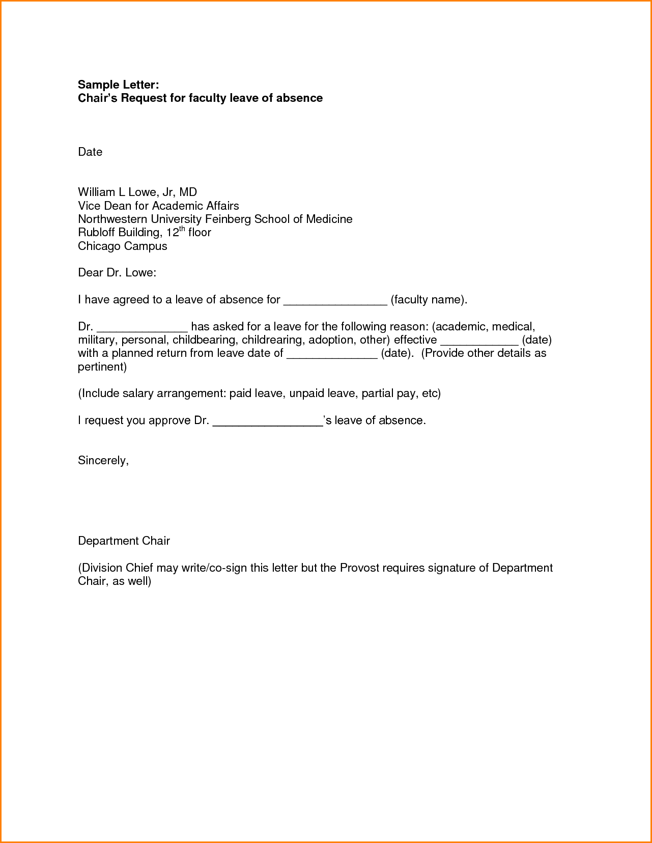 School leave letter format absence request sample medical school leave letter format absence request sample medical application for college illustrationessays web altavistaventures