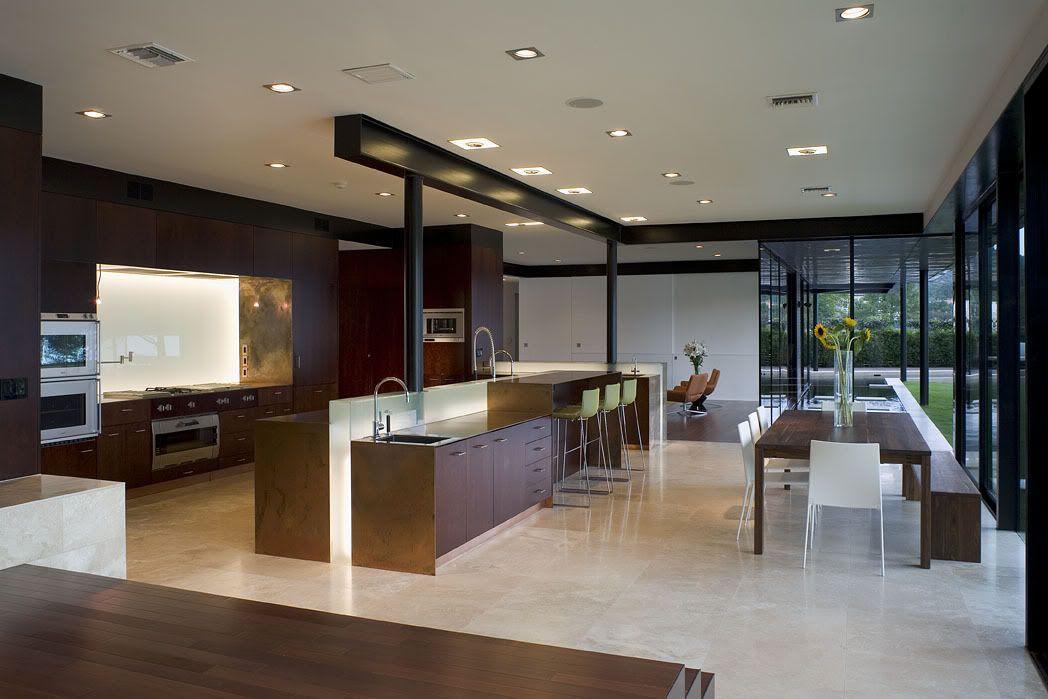 Casa lujo cocina comedor s cocinas for Decoracion de interiores cocinas