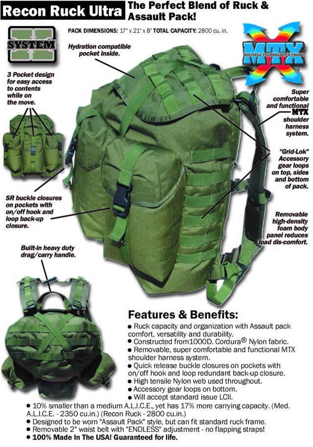 fbdecde84 Modern day ALICE pack | Survival / Bushcraft / BOB | Bushcraft ...