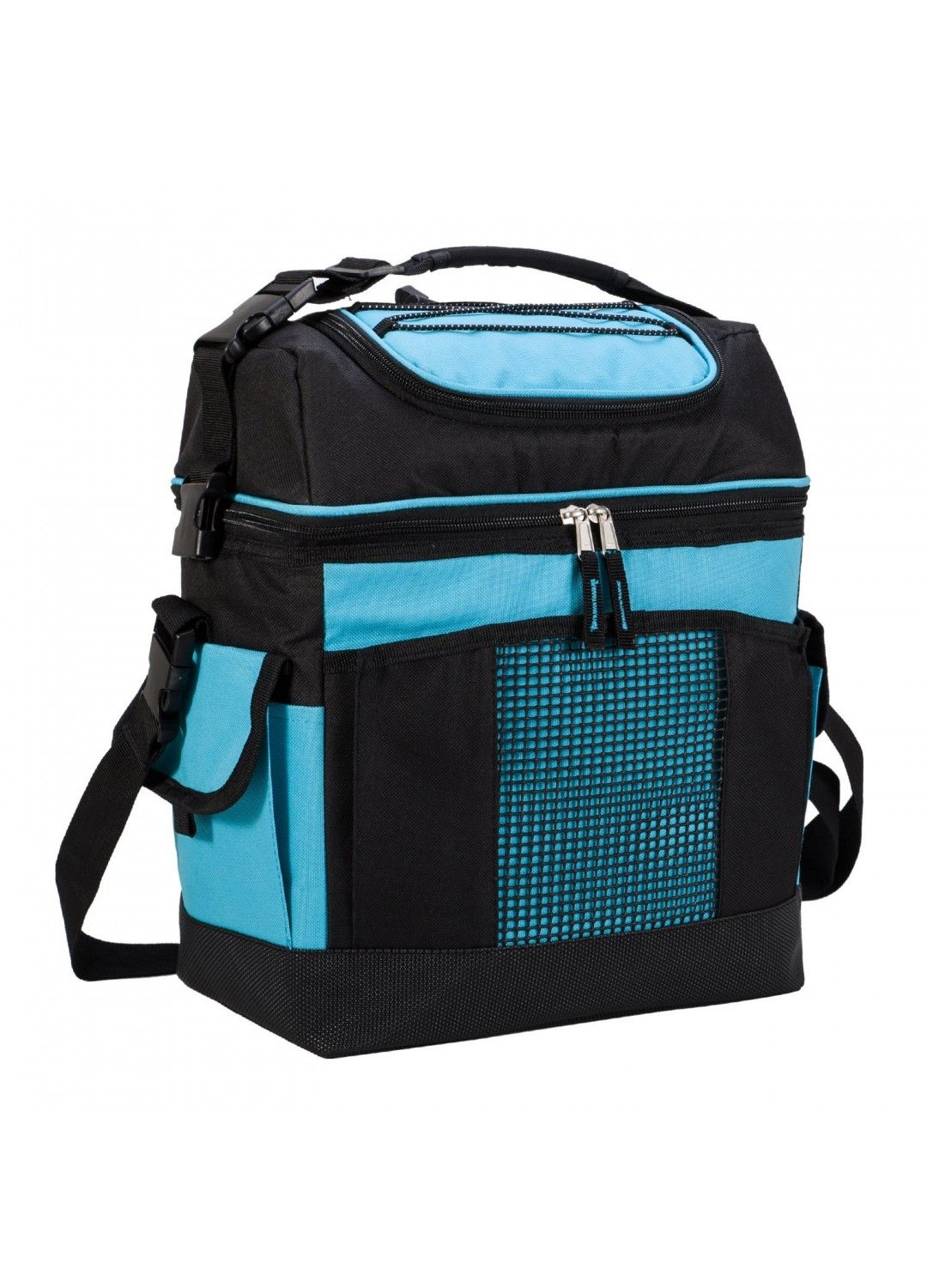 5ce225c86cc4 MIER 2 Compartment Cooler Bag Tote Large Insulated Lunch Bag for ...