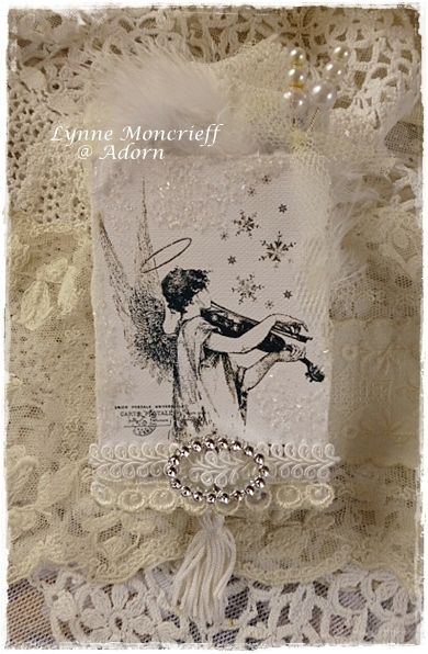 Gift Of Music Altered Match Box   by Lynne Moncrieff   designed for Gecko Galz
