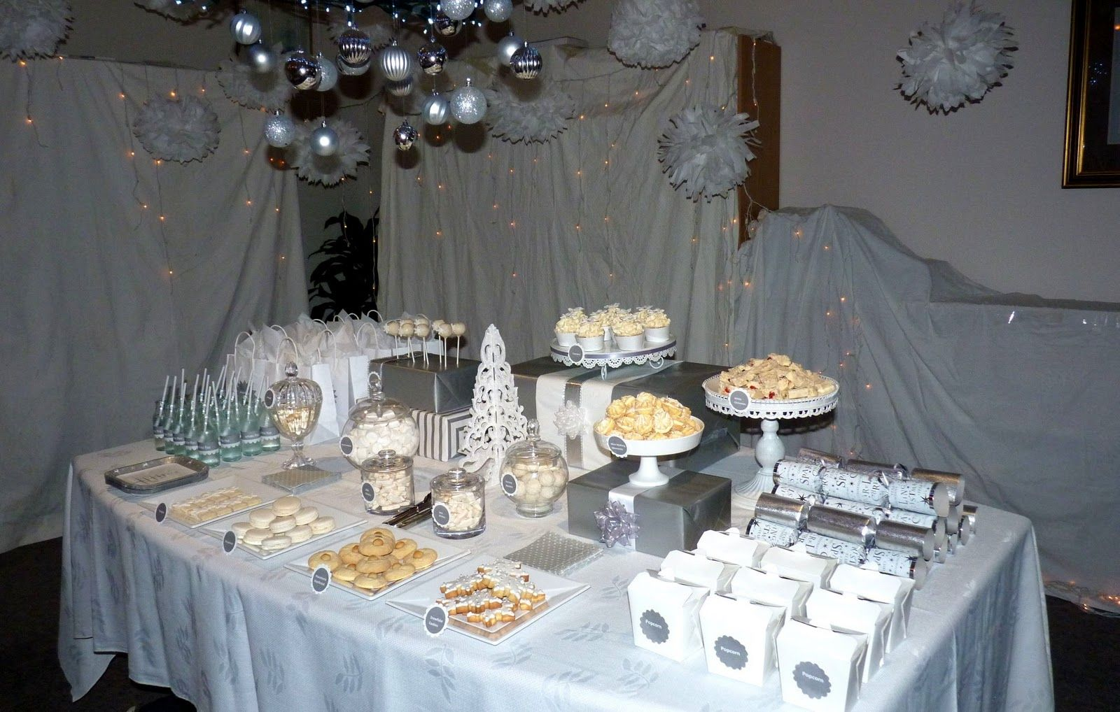 Awesome White Christmas Party Theme Ideas Part - 8: Image Detail For -Bubble And Sweet: White Christmas Wonderland Party